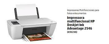 Multifuncional HP Deskjet Ink Advantage 2546 Wireless, Impressora, Copiadora e Scanner