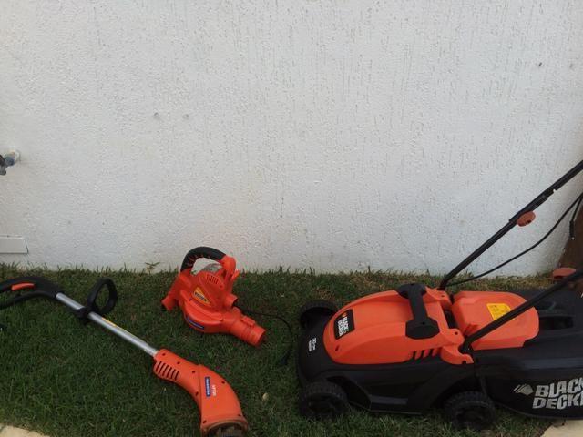 Cortador, aparador e soprador de grama! Super conservados!!