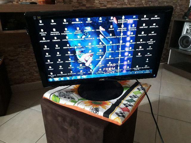 Monitor AOC 21' LCD