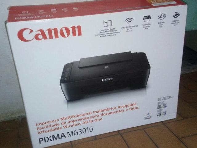 Impressora Wi-fi Canon PIXMA MG3010
