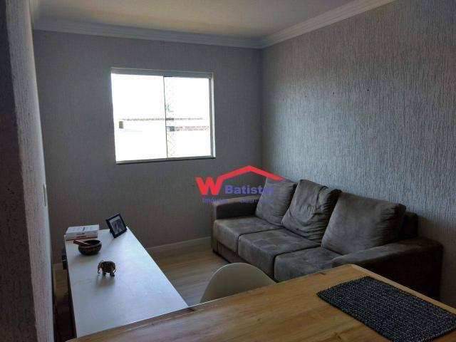 Apartamento com 2 dormitórios à venda, 57 m² por r$ 250.000 - rua vinte e cinco de dezembr - Foto 6