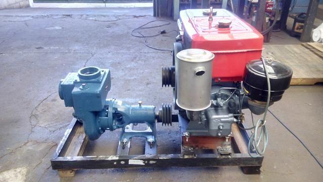 Conjunto motobomba autoescorvante 4 polegadas - Foto 4