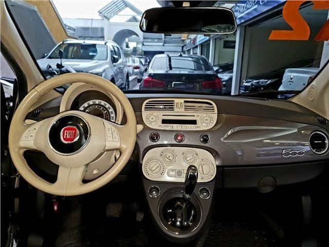 Fiat 500 1.4 cult 8v flex 2p automatizado - Foto 9