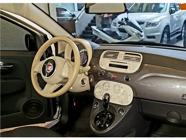 Fiat 500 1.4 cult 8v flex 2p automatizado - Foto 10