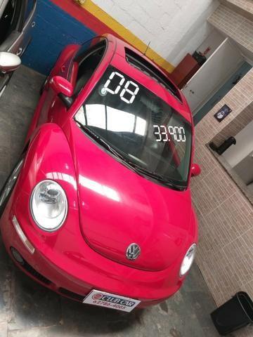 VW-Volkswagen New Beetle 2.0 2008 Completo - Foto 3