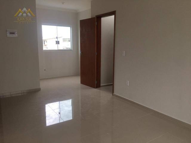 Apartamento com 2 dormitórios à venda por r$ 235.000 - campeche - florianópolis/sc - Foto 10