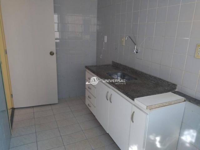 Apartamento com 2 dormitórios para alugar, 55 m² por r$ 700/mês - bandeirantes - juiz de f - Foto 12