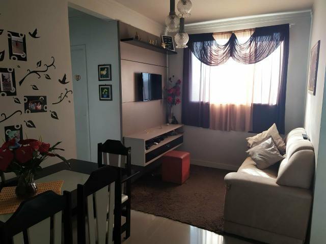 Vendo lindo apartamento semi mobiliado - Foto 6