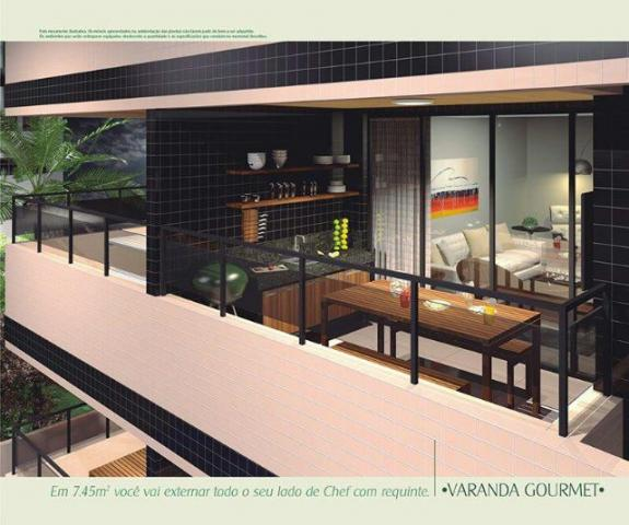 Excelente apto3/4 com suites,área de lazer,133 m2 - Foto 10