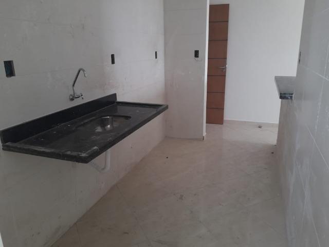 Imperdível 200 mil Á Vista 2 dormitórios 1suíte 1vaga,sacada gourmet,Caiçara - Foto 4
