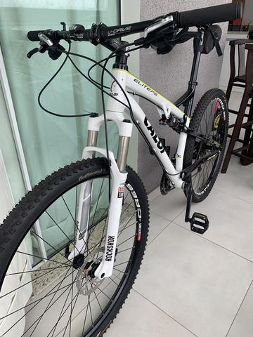 f4317df262c Caloi Elite Fs 2016 (full Suspension) aro 29 - Ciclismo - Timbó ...