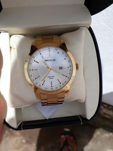 25cb6504087 Relógio Seculus original - Bijouterias