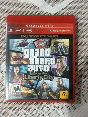 Jogo Playstation 3 GTA Liberty City