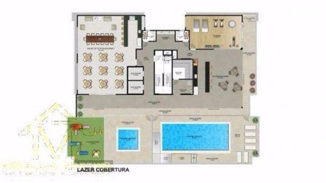 Apartamento de 2 quartos com 01 vaga na garagem Cód: 4739AM - Foto 6