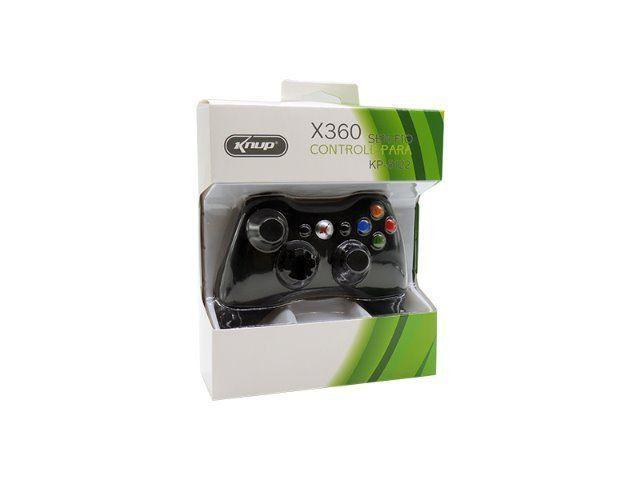 Controle Xbox X360 Knup Kp-5122 Sem Fio - Foto 2