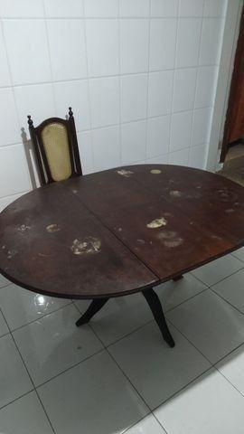 Mesa em madeira maciça - Foto 5