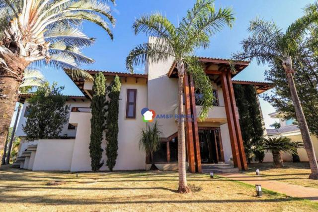 Sobrado com 4 dormitórios à venda, 638 m² por R$ 3.199.000,00 - Residencial Granville - Go - Foto 2