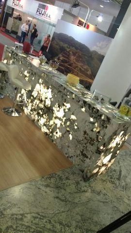 Balcão em Granito Exótico Translúcido Semi Precioso Tourmaline - Foto 2
