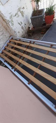 Cama de solteiro de ferro - Foto 3