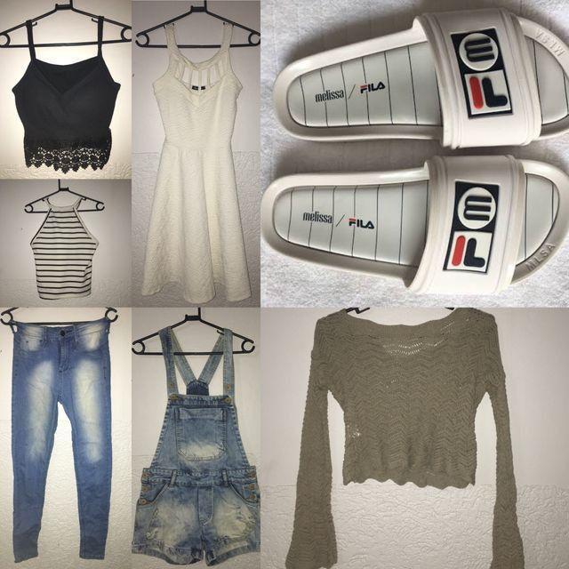 Slide Melissa+roupas (ou separado também)
