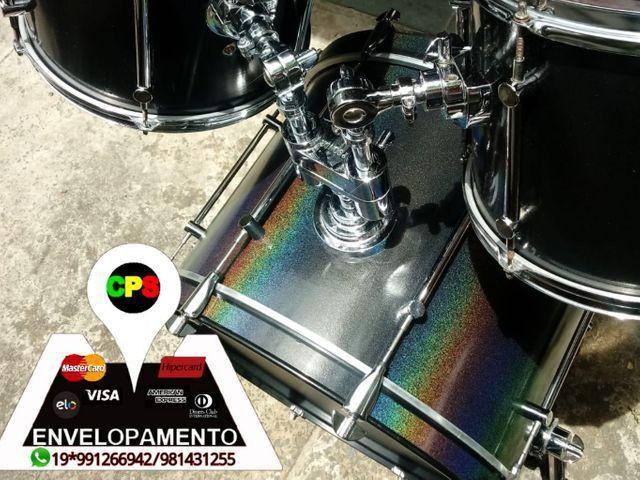 ENVELOPAMENTO E POLIMENTO DE INSTRUMENTOS MUSICAIS