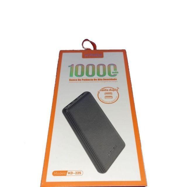 Carregador power bank - bateria externa - 10.000mah - kd-225