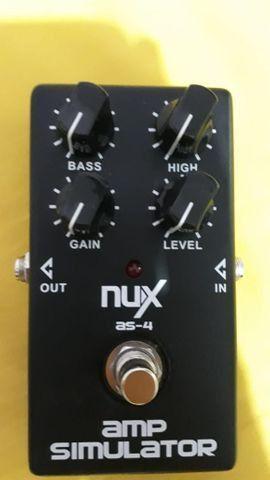 Pedal Amp Simulator Nux - Foto 5