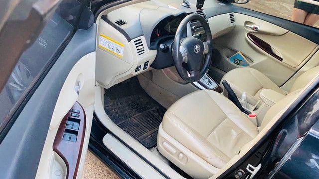 Corolla 2011/2012 cor preto perolizado - Foto 6