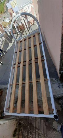 Cama de solteiro de ferro - Foto 6