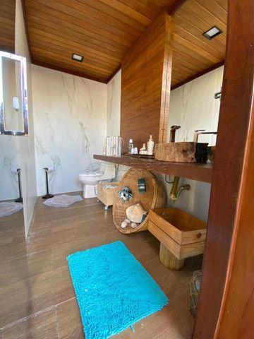 KMRL-Casa dos sonhos em Porto de Galinhas - 10 quartos (c/suítes) - 4 vagas - piscina - Foto 16