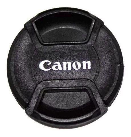 Tampa Canon Para Lente Objetiva 18-55mm T3i T4i T5i T6i - Ø 58mm 58 mm Diâmetro - Foto 3