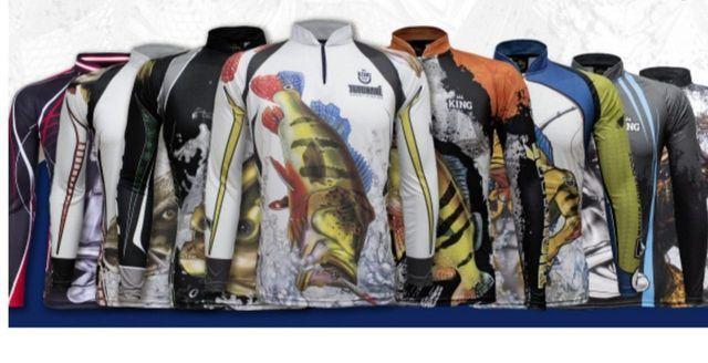Camisas Promoção Pescaria - Foto 3