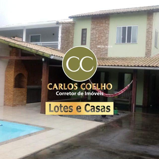 Mm Casa Lindíssima com piscina e área gourmet, na quadra da praia!