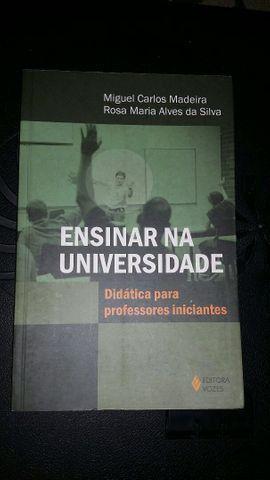 Livro Ensinar na Universidade