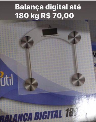 Balança digital corporal até 180 kg - Foto 2