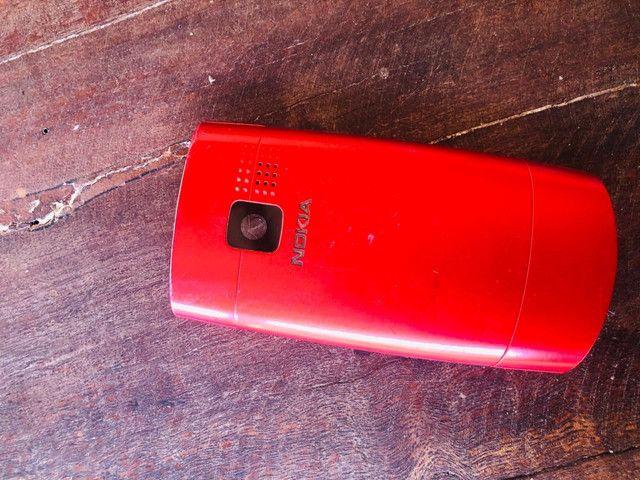 Nokia X2-01<br><br>Vermelho  - Foto 3