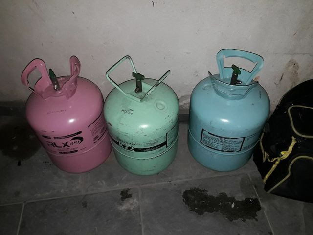 Fluido refrigerante 134 A 410 A