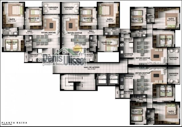 Lançamento Residencial Dix -Neuf Rosado - Foto 17