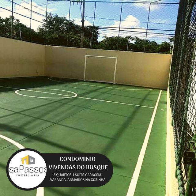 ATENÇÃO!!! VENDO Apartamento no CONDOMÍNIO VIVENDAS DO BOSQUE, - Foto 5