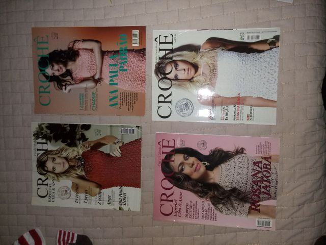 Revistas de crochê variadas - Foto 2