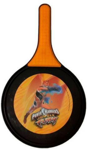 Raquete de Frescobol Power Rangers Jungle Fury com bola - Foto 3