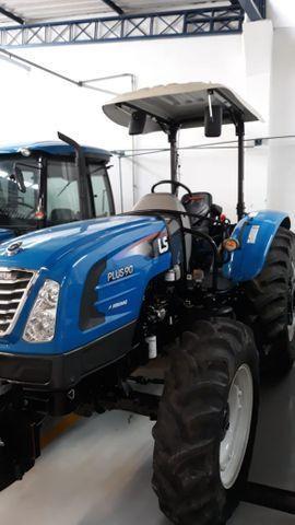 Trator LS Plus90 Usado 500 horas ano 2019 - Foto 2