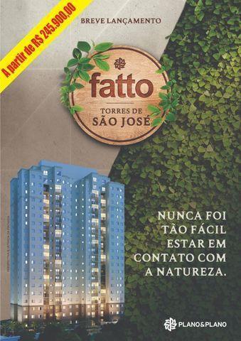 RS245.900,00 - Apartamento Fatto Torres de São José - Jundiaí - Lazer Completo - Na planta
