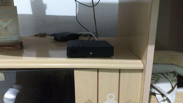 Tv/Monitor 17 polegadas lcd + receptor Intelbras+ caixinhas de som+ conversor - Foto 4