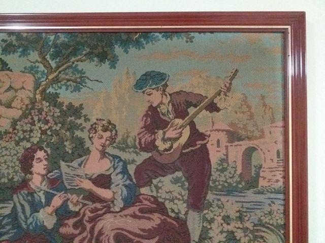 Quadro em tapeçaria GOBELIN - Foto 3