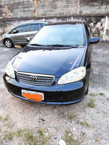 Corolla XEI 2008 azul flex automático completo - Foto 2