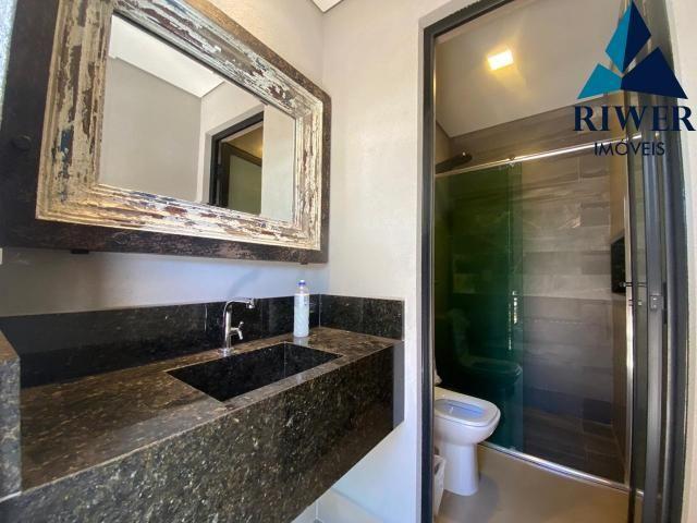 Luxo! Casa perfeita e mobiliada em Vicente Pires! 4 suites, revestimentos e materiais de p - Foto 8