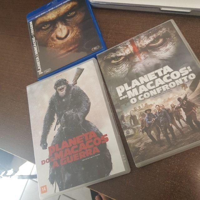 Trilogia: Planeta Dos Macacos (nova Versão)