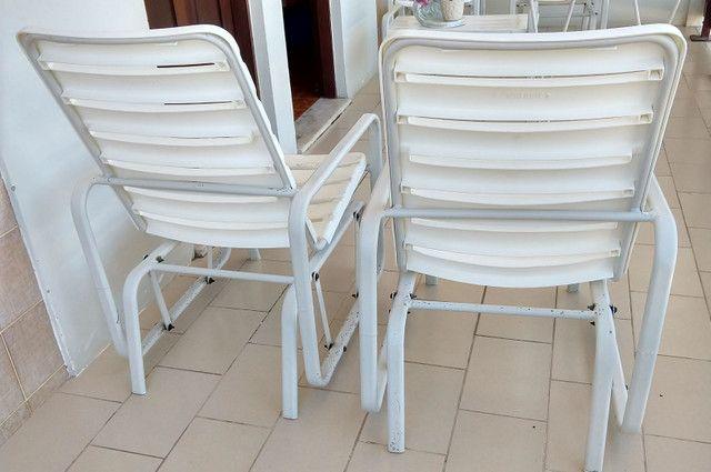 Cadeiras de balanço (alumínio), Marfinite. - Foto 3