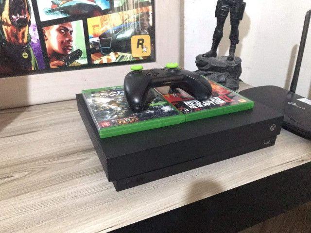 Xbox one x seminovo - Foto 2